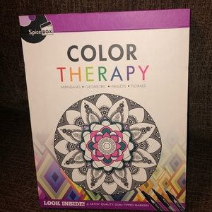 Color Therapy Kit Anti-Stress Adult Coloring Kit